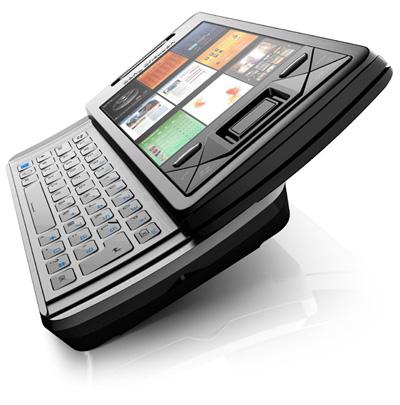 Sony Ericsson X1 Xperia con teclado Qwerty