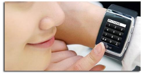LG GD910, un móvil de pulsera.