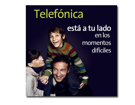 Telefónica rebajará hasta en 20€ las facturas a sus clientes en paro