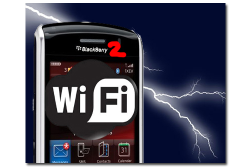 Blackberry Storm 2 con Wifi