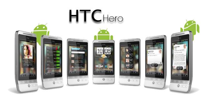 HTC Hero, la tercera con Android OS