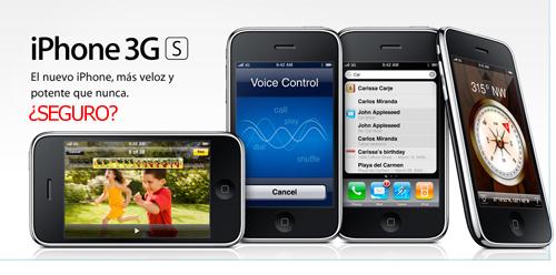 Iphone 3G S, no es oro todo lo que reluce