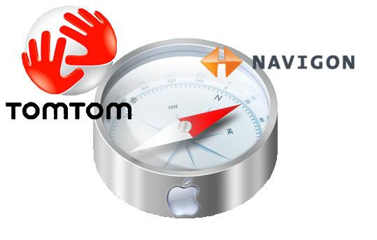 TomTom y Navigon llevan GPS al Iphone