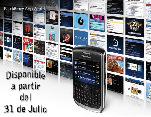Blackberry App World para España en breve