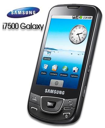 Samsung i7500 Galaxy, el primero con Android
