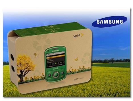 Samsung Reclaim, el móvil más verde