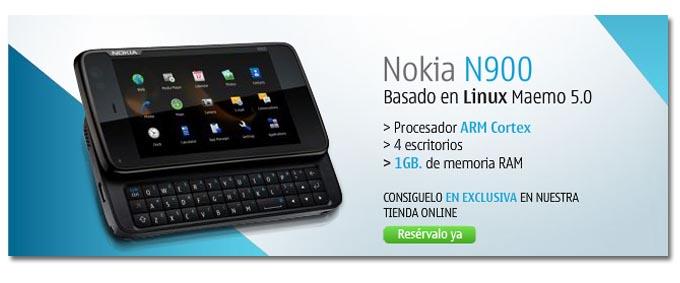 Ya puedes reservar el Nokia N900