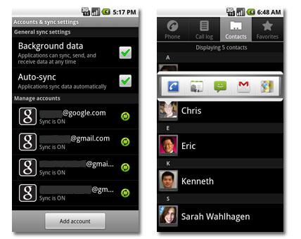 Android 2.0 Eclair a la vista