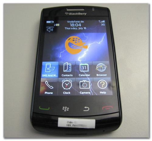 La Blackberry Storm 2 llegará en breve