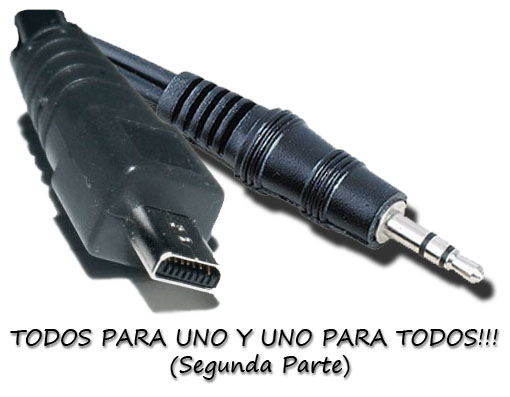 Cable único para audio y datos