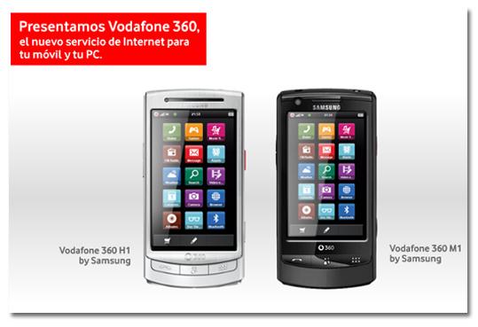 Precios y tarifa de navegación para Vodafone 360