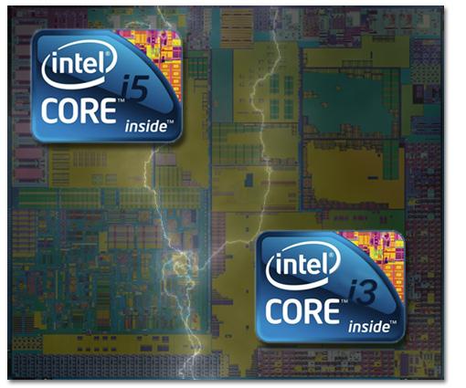 Intel Core i3 e i5 Mobile están confirmados