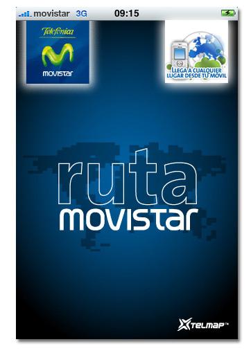Ruta Movistar. GPS online para sus móviles