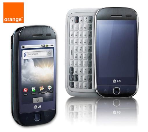 LG GW620. Android económico en Orange Empresas