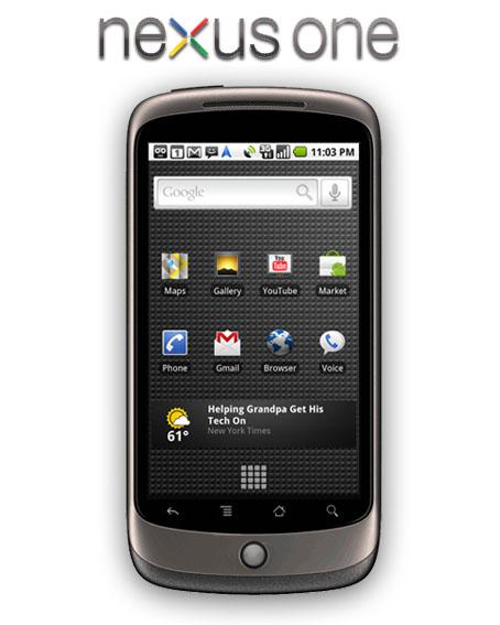 El Nexus One de Google ya está a la venta
