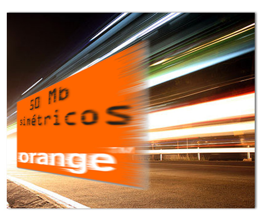 Orange ofrece SDSL a 50Mb simétricos