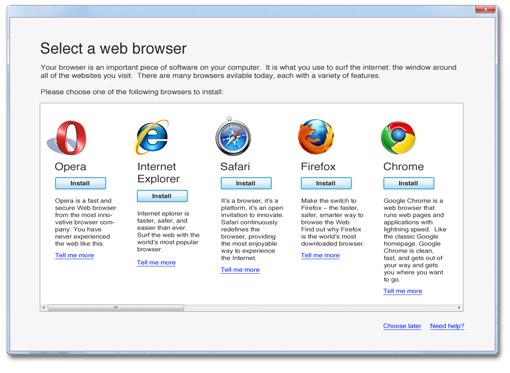 Browser Ballot ya está disponible en Europa