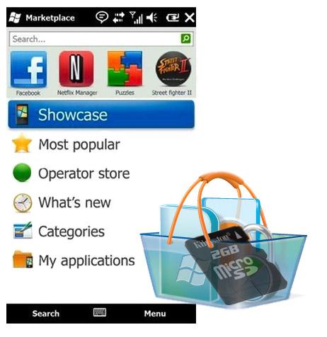 Windows Marketplace permite instalar programas en la memoria externa