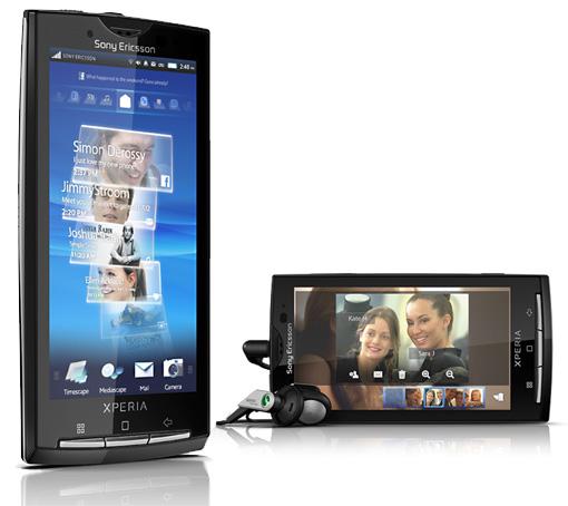 Sony Ericsson Xperia X10. Tenemos los precios (Actualizado. Puntos Vodafone)