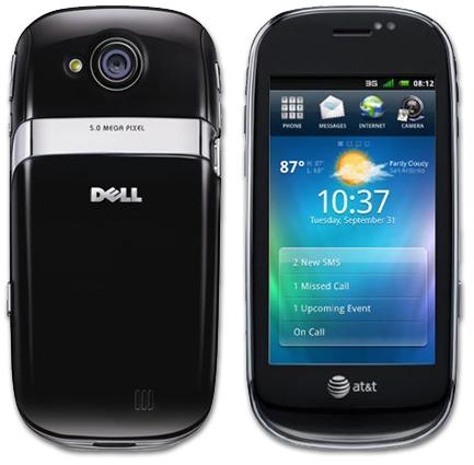 Dell Aero con Android 1.5 Cupcake