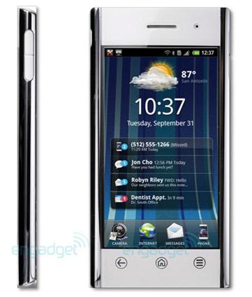 Dell Flash. Diseño y potencia con Android Froyo