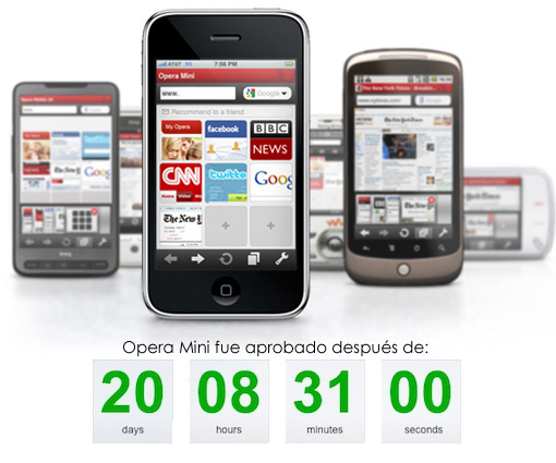 Opera Mini en el iPhone!!