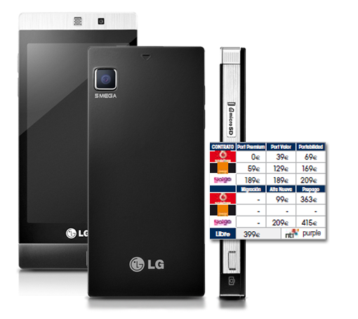 LG GD880 Mini llega a nuestras tiendas