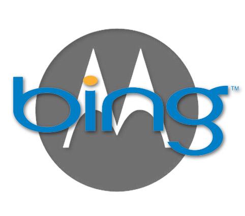 Motorola se cambia al buscador Bing