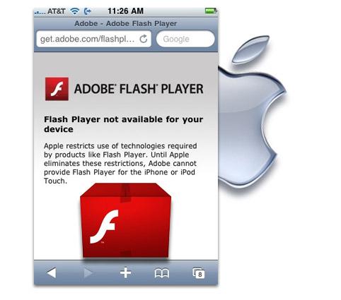 Adobe y Apple. A que llamo al juez!!