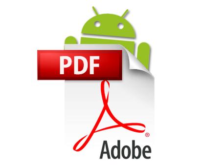Adobe Reader ya es oficial en Android