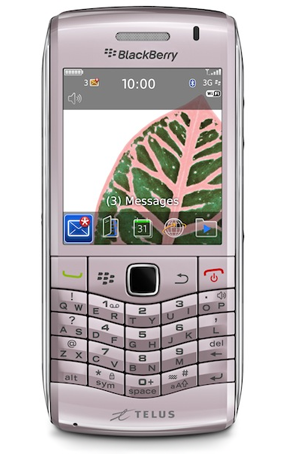 Blackberry Pearl 3G también en rosa