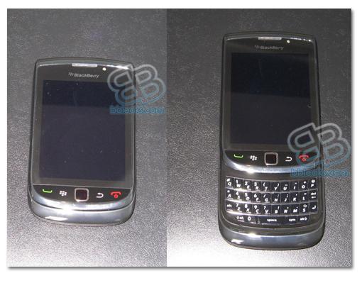Blackberry Bold Slider 9800 en vídeo