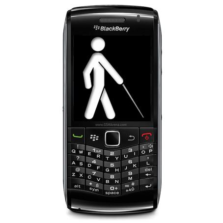 Blackberry quiere dispositivos para invidentes