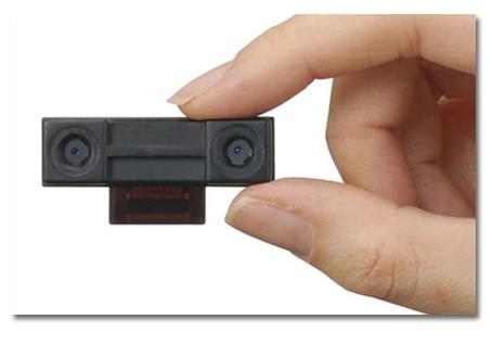 Sharp fabrica la primera cámara 3D para móviles