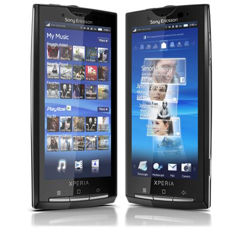 Sony Ericsson actualizará el X10 a Android 2.1