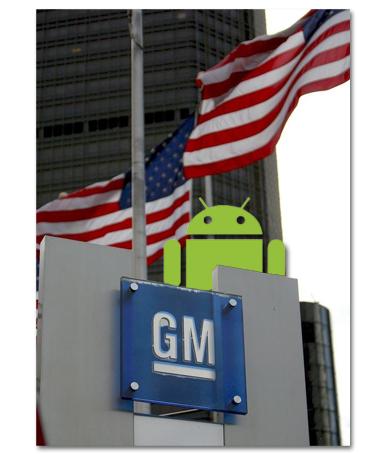Lo que faltaba. Android en coches de General Motors