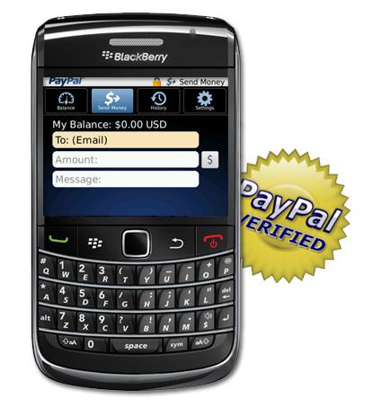 PayPal para Blackberry se actualiza