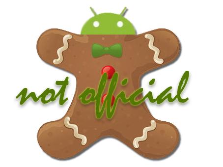 Google desmiente detalles sobre Android 3.0 Gingerbread