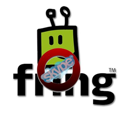 Fring cancela el servicio Skype por saturación. Y Skype cancela su servicio sobre Fring
