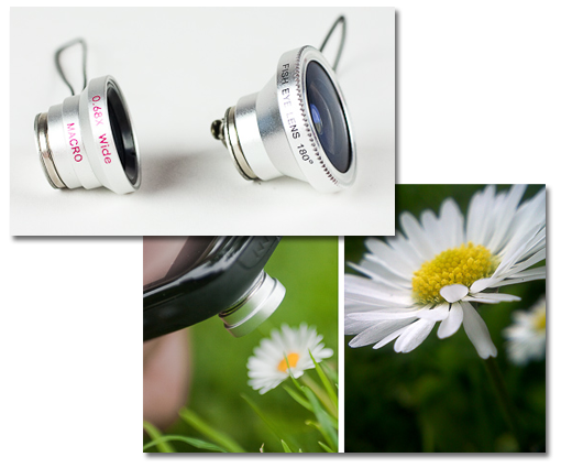 Objetivos fotográficos para tu móvil