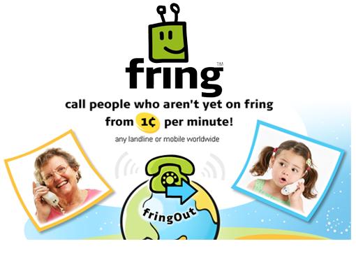Fring lanza FringOut. VoIp a precio de coste