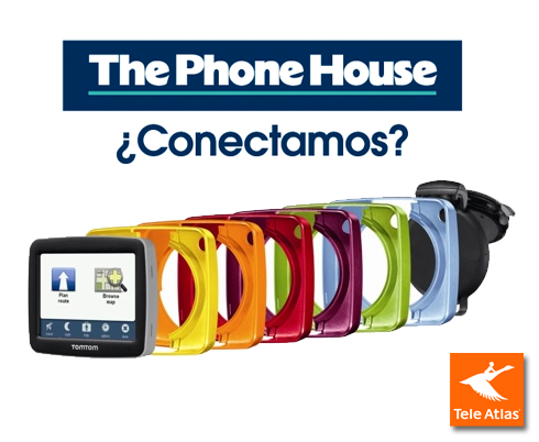 No te pierdas. TomTom y The Phone House te ayudan