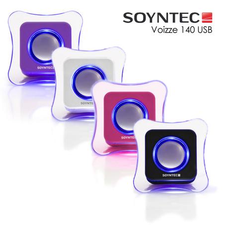 Altavoces Soyntec. Diseño portable para tu ordenador