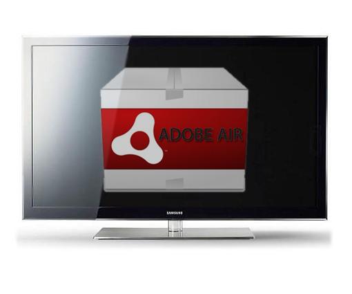 Adobe Air llega a las televisiones