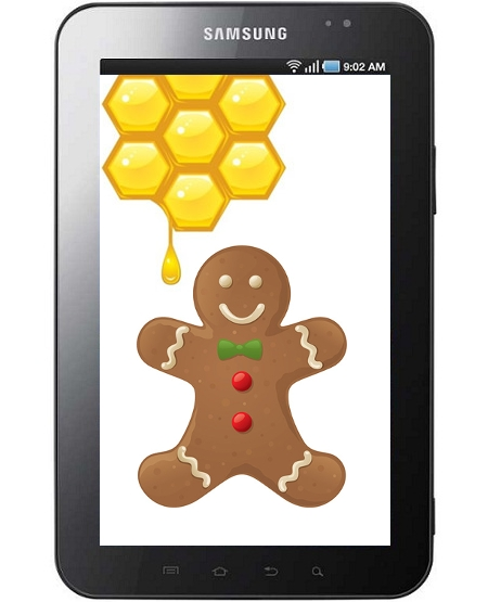 Samsung Galaxy Tab actualizable a Android Gingerbread y Honeycomb