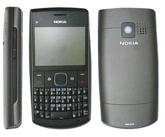 Nokia X2-01 música y teclado QWERTY