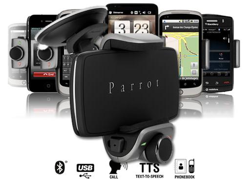 Parrot MiniKit Smart. Compatibilizando funciones con tu móvil