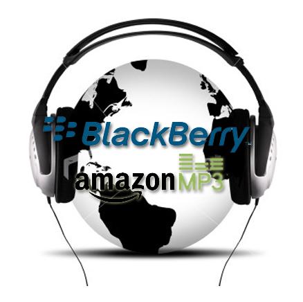 Blackberry ofrece Amazon MP3 en sus dispositivos