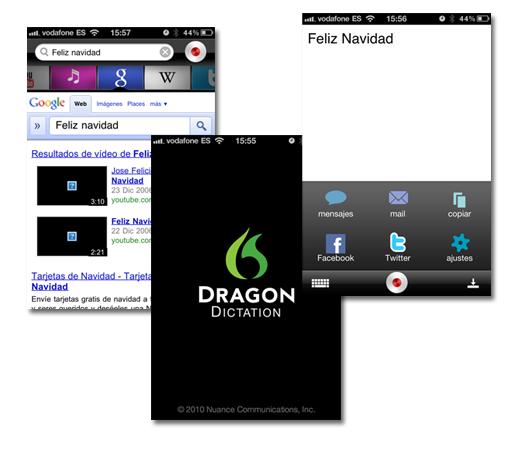 Deja de escribir gracias a Dragon App para iPhone