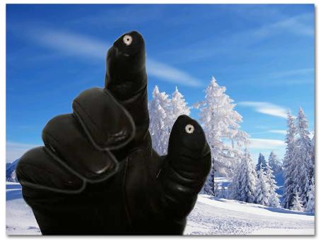 Glove Tips. Usa tu pantalla táctil sin helarte